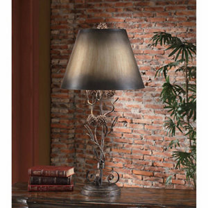 Iron Twig Table Lamp, 32 In. H.