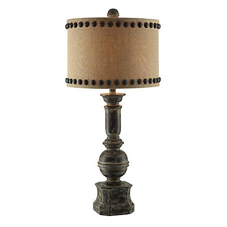 Iron Baluster Table Lamp, 32 in. H.