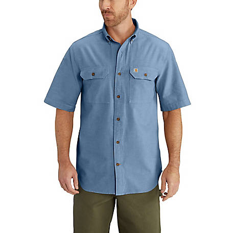 Carhartt Men's Short Sleeve Chambray Shirt, S200