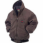 Tough Duck Men's Washed Hooded Bomber