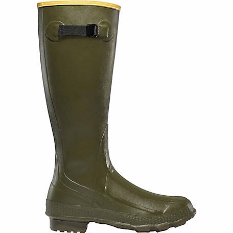 LaCrosse Footwear Men's Grange 18 in. OD Green Boot