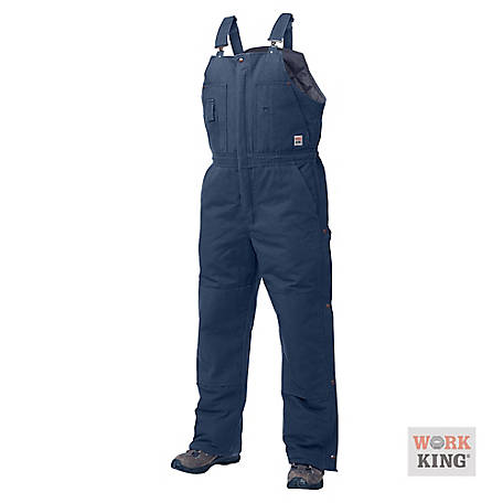 Work King Men's Deluxe Lined Bib