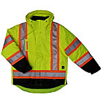 Work King Safety Men's 5-in-1 Hi-Vis Safety Jacket