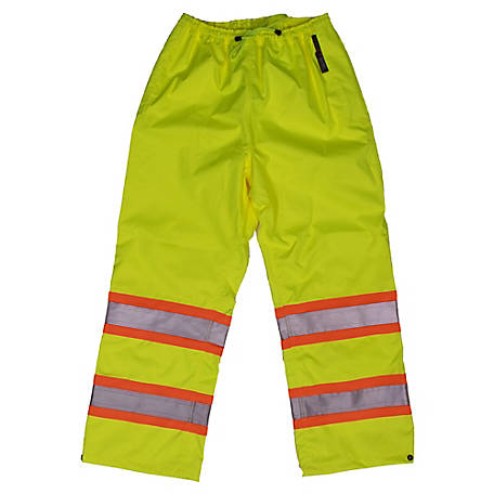 Work King Men's Hi-Vis Rain Pant S374