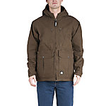 Berne Men's Duck Fleece-Lined Hooded Coat with Concealed Weapon Pockets