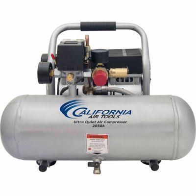 California Air Tools 2050A Ultra Quiet & Oil-Free 1/2 HP; 2.0 gal. Aluminum Tank Air Compressor