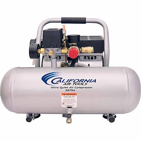 California Air Tools 2075a Ultra Quiet Oil Free 3 4 Hp 2 0 Gal Aluminum Tank Compressor At Tractor Supply Co