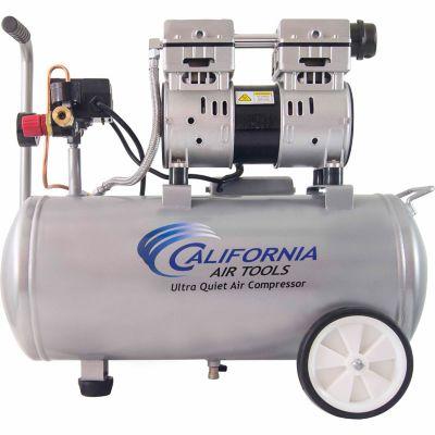 California Air Tools 8010 Ultra Quiet & Oil-Free 1.0 HP; 8.0 gal. Steel Tank Air Compressor