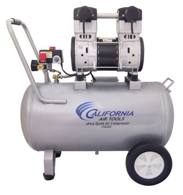 California Air Tools 15020C Ultra Quiet & Oil-Free 2.0 HP; 15.0 gal. Steel Tank Air Compressor