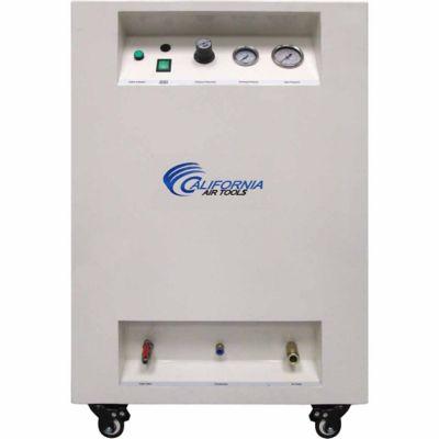 California Air Tools 8010DSPC Ultra Quiet & Oil-Free 1.0 HP 8.0 gal. Steel Tank Air Compressor