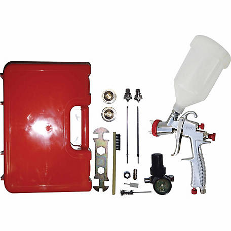 California Air Tools Sprayit SP-33000K LVLP Gravity Feed Spray Gun Kit