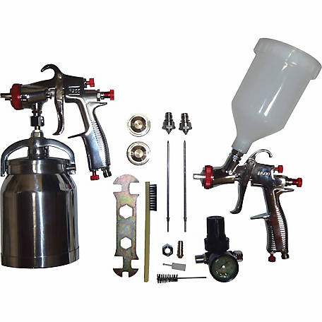 California Air Tools Sprayit SP-33310K LVLP Spray Gun Kit