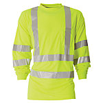 Berne Class 3 Hi-Visibility Long Sleeve Pocket T-Shirt