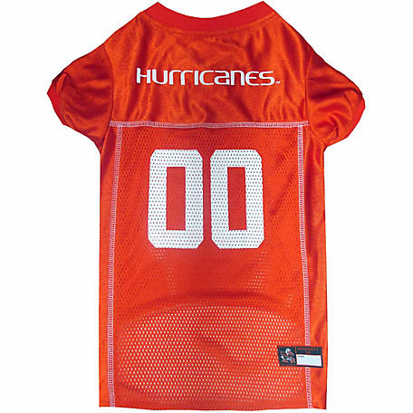 Pets First Co Miami Hurricanes Pet Jersey