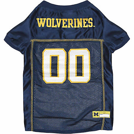 Pets First Co Michigan Wolverines Pet Jersey