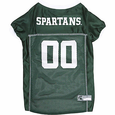 Pets First Co Michigan State Spartans Pet Jersey
