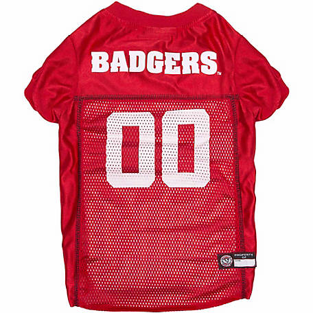 Pets First Co Wisconsin Badgers Pet Jersey