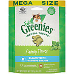 Greenies Feline Dental Treat, Catnip Flavor, 5.5 oz.