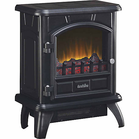 Duraflame Electric Stove with Heater, Black
