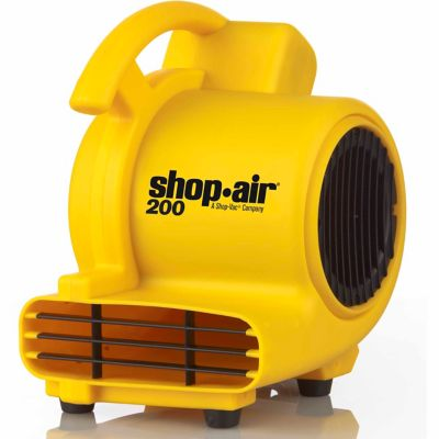Shop-Air Self-Contained Air Mover; 200 CFM; Yellow
