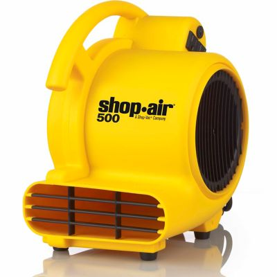 Shop-Air Self-Contained Air Mover; 500 CFM; Yellow