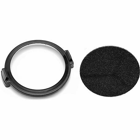 Shop-Air Carbon Air Circulator Filter with 11 in. Filter Mounting Ring