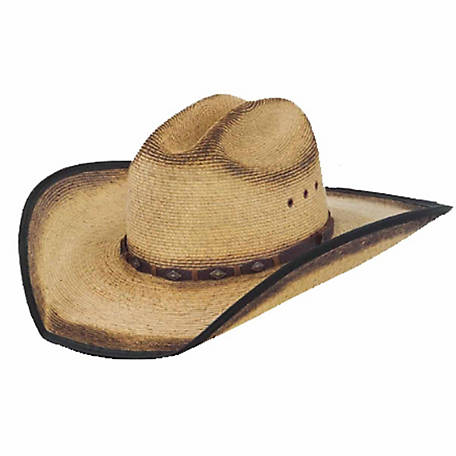 b35aa3740a409 Justin Trigger Western Palm Hat at Tractor Supply Co.