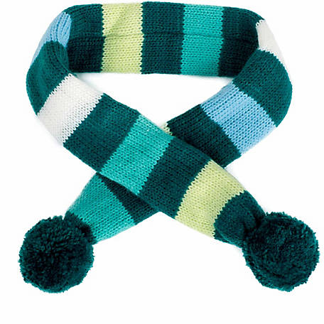 The Worthy Dog Dapper Stripe Dog Scarf