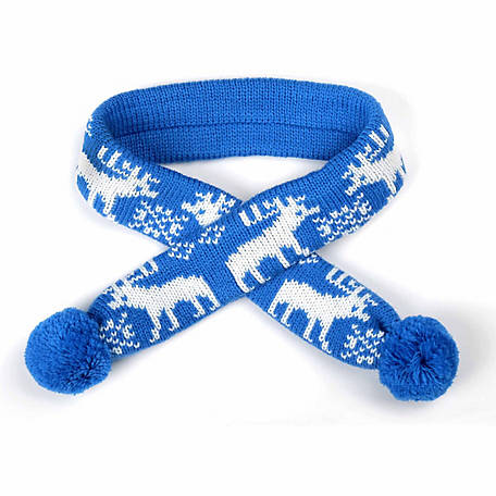 The Worthy Dog Reindeer Dog Scarf