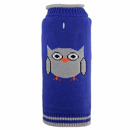 The Worthy Dog Hoot Dog Sweater