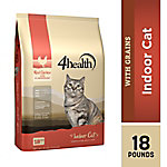 4health Indoor Cat Formula for Adult Cats, 18 lb. Bag