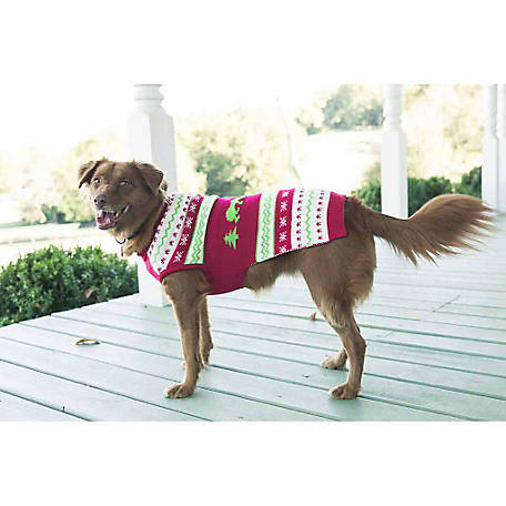 The Worthy Dog Polar Bear Dog Sweater