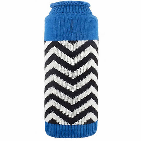 The Worthy Dog Chevron Dog Sweater