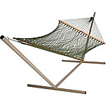 Pawleys Island Presidential Size Original DuraCord Rope Hammock, Meadow
