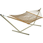 Pawleys Island Large Original DuraCord Rope Hammock, Antique Brown