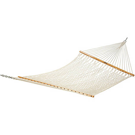 Pawleys Island Deluxe Original Cotton Rope Hammock