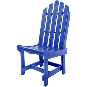 Pawleys Island Essential Dining Chair, Blue