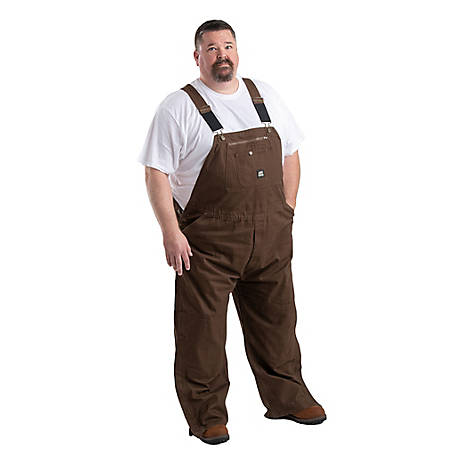 Berne Men's Washed Duck Unlined Bib Overall