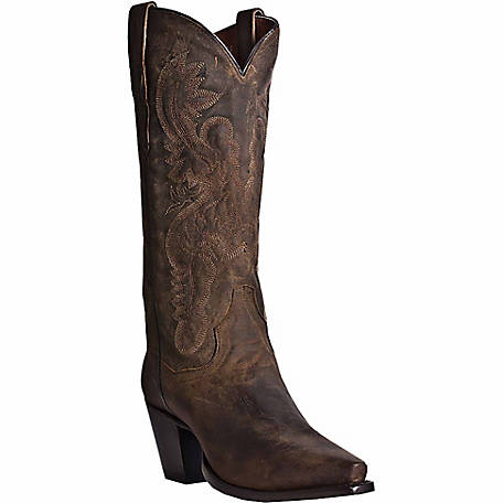 Dan Post Women's Maria 13 in. Leather Western Boot