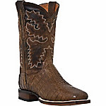 Dan Post Men's Denver 11 in. Shaft Bay Apache Brown Leather Western Boot