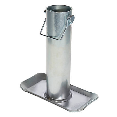 FULTON Bulldog Removable Trailer Jack Foot Plate, 2-1/4 in., F2000 0301