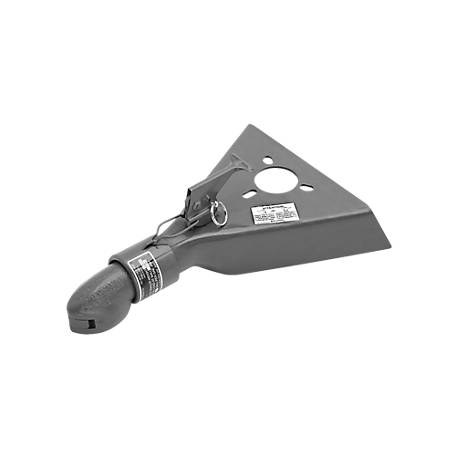 Bulldog Heavy-Duty A-Frame Tongue Mount Trailer Coupler, 5,000 lbs.