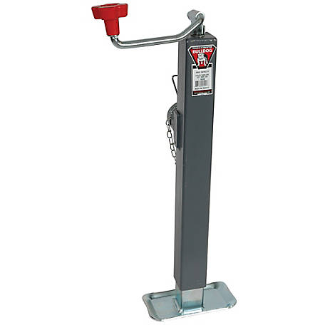Bulldog Heavy-Duty Topwind, Square Fixed Leg Jack, 195306
