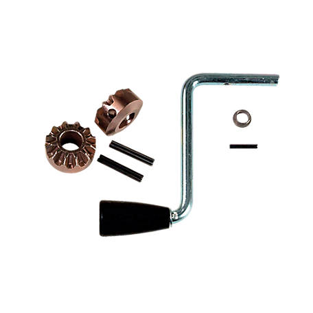Bulldog Side Wind Crank Assembly and Gear Kit, 2,000 lb., 500256