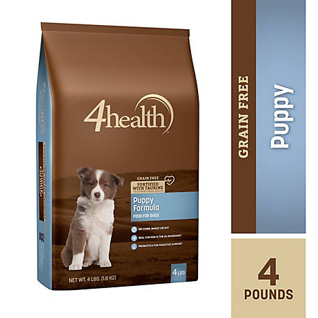 4health Grain Free Puppy Dog Food, 4 lb  Bag at Tractor Supply Co