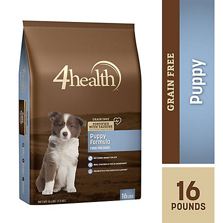 4health Grain Free Puppy Dog Food, 16 lb. Bag