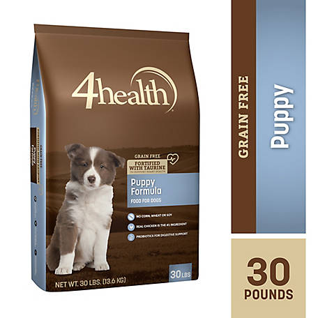 4health Grain Free Puppy Dog Food, 30 lb. Bag