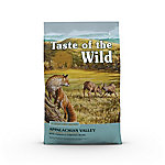Taste of the Wild Appalachian Valley Small Breed Canine Formula with Venison & Garbanzo Beans Dog Food, 28 lb. Bag