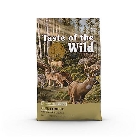 Taste of the Wild Pine Forest Canine Formula with Venison & Legumes, 14 lb. Bag