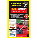 Mechanic In A Bottle Gas Duel Test Swabs, Pack of 3